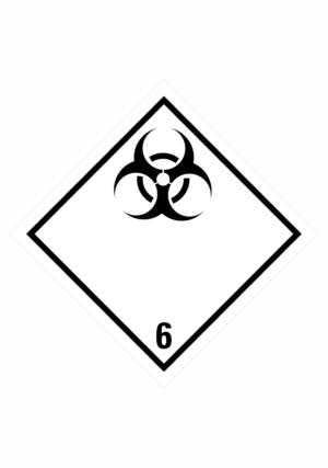 Značení nebezpečných látek a obalů - Symboly ADR: Infekční látky (ADR Třída 6.2)