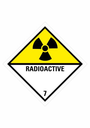 Značení nebezpečných látek a obalů - Symboly ADR: Radioaktivní látky (ADR Třída 7)