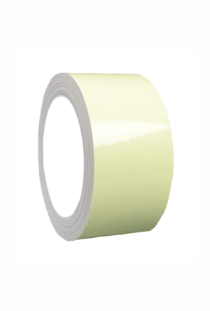Fotoluminiscenční podlahové značení - Podlahová páska: Hladká fotoluminiscenční podlahová páska