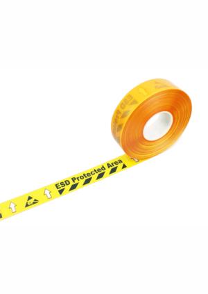 Značení ESD - Elektrostatika: ESD potištěná páska pro značení podlahy