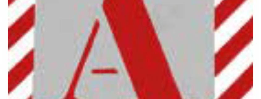 Čísla a písmena - Plechové šablony: Abeceda verzálka - Patkové písmo