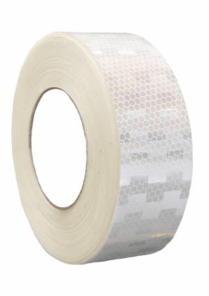 Značení vozidel - Označení nákladních automobilů: Mikroprismatická reflexní páska bílá