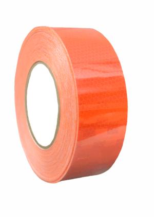 Značení vozidel - Označení nákladních automobilů: Mikroprismatická reflexní páska oranžová