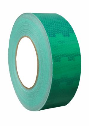 Značení vozidel - Označení nákladních automobilů: Mikroprismatická reflexní páska zelená