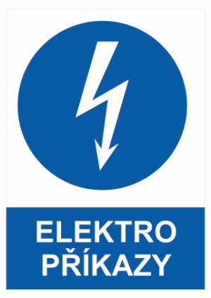 Příkaz Elektro zařízení