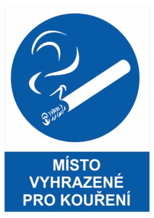 Příkaz Prostor ke kouření