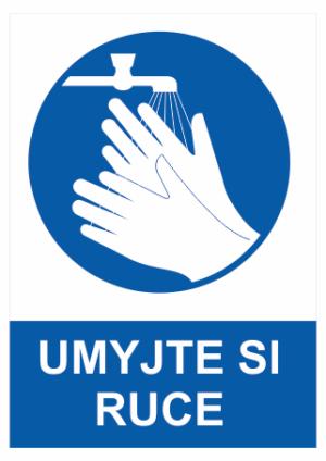 Příkaz Hygiena rukou