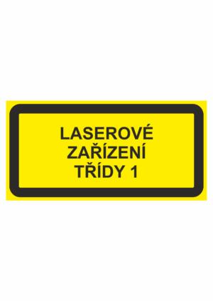Laserové zařízení text