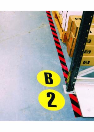 Podlahové čísla a písmena