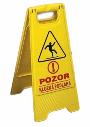 Výstražné podlahové tabule