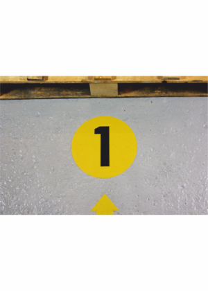 Podlahové čísla PVC