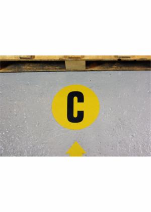 Podlahová písmena PVC