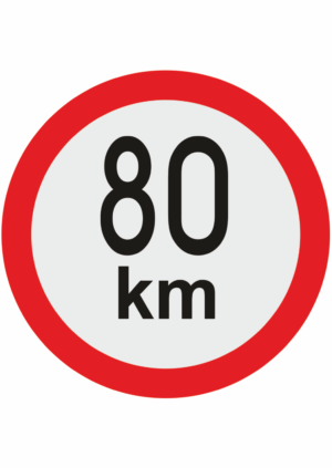 Označení maximální rychlosti